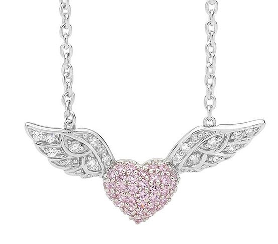 Sterling-silver-pink-cubic-zirconia-Pave-set-Heart-white-cubic-zirconia-wings-Attached-to-Sterling-silver-chain1.jpg 553×485 pixels