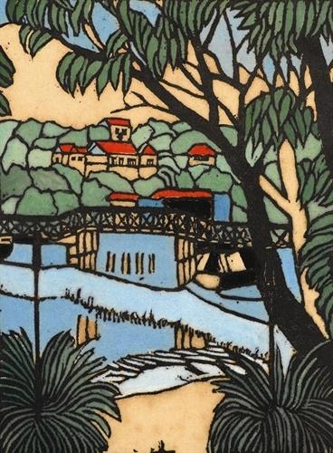 Mosman Bridge by Margaret Preston