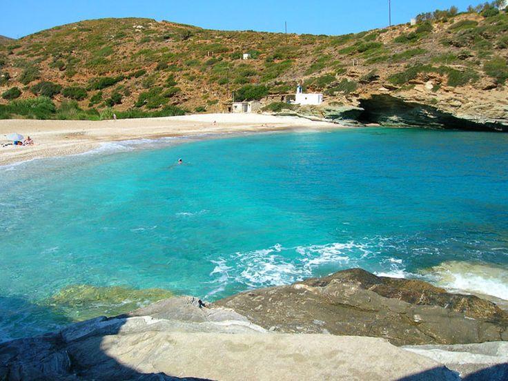 Vitali Beach Andros #mysteriousgreece