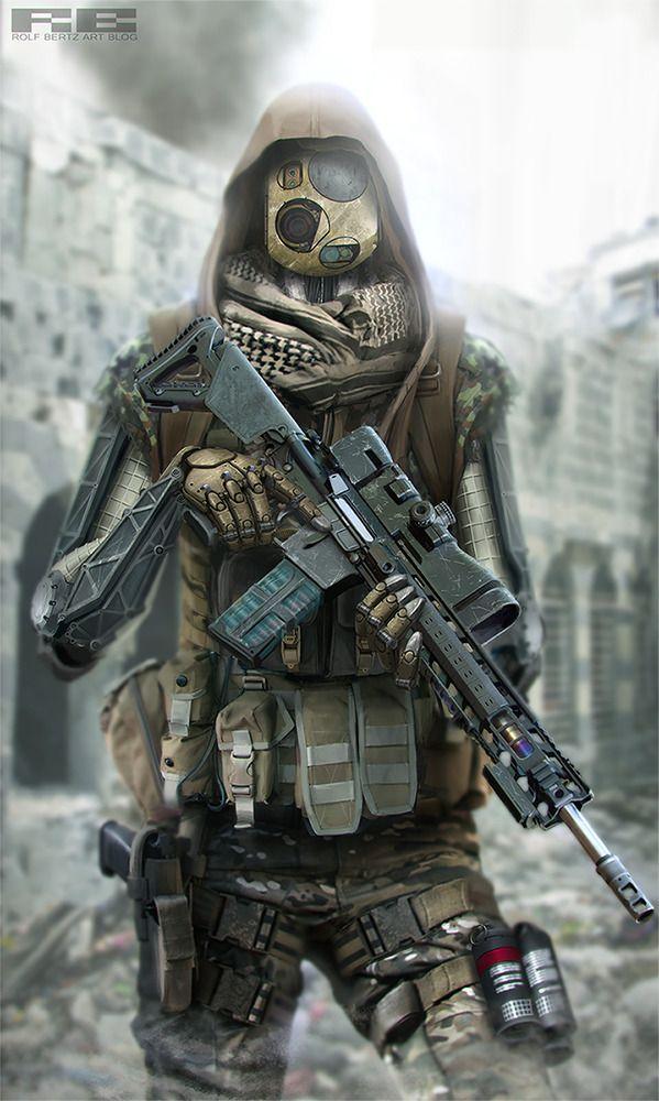 Has the SPIRIT of SandSEa hodgepodge, but a little too COD/Modern Warfare. Right arm looks kinda dumb too