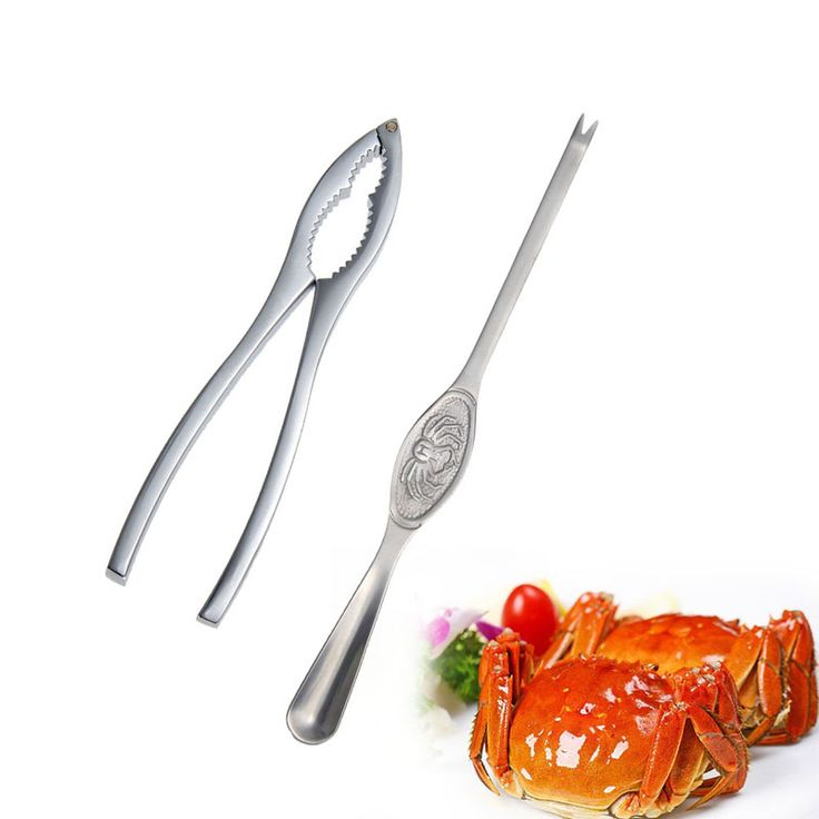 2015 New Kitchen cooking tools Seafood lobster crab forks,nut and lobster cracker,crab pick pincers home kitchen accessories