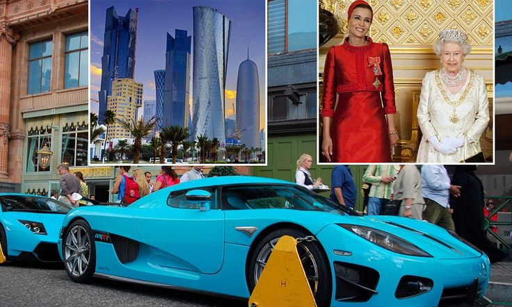How Qatar bought Britain: They own the Shard. They own the Olympic Village. And they don't care if their Lamborghinis get clamped when they shop at Harrods (which is theirs, too)