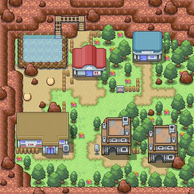 It's very funny trying out the tileset, so this is Lavaridge Town. Update: The map has been reconditioned with the new Lavaridge tileset! Old map: NONE OF THE TILES/SPRITES BELONG TO NINTENDO OR GA...