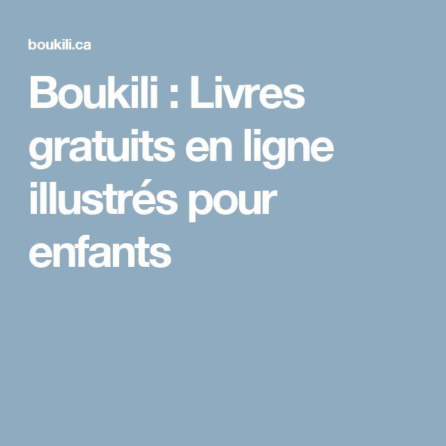 Boukili : Livres gratuits en ligne illustrés pour enfants