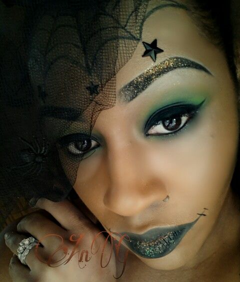 Halloween Notes (Pretty Witch Makeup) | Halloween ...