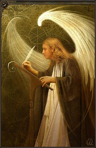 Archangel Metatron, Angel of Sacred Geometry and Numerology, (Kabbalah), helps to clear and open our chakras, cleansing psychic toxins from our bodies. He works with sensitive children, indigos and crystals...love the piece and the allegory..