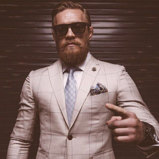 stylish badass Irish gangster Conor McGregor in designer suit : if you love #MMA, you'll love the #UFC & #MixedMartialArts inspired fashion at CageCult: http://cagecult.com/mma