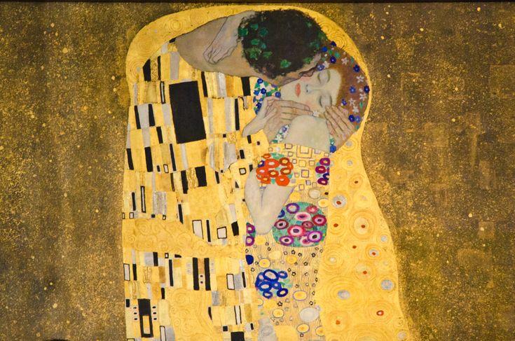 """The Story of """"The Kiss"""" by Gustav Klimt                                   -Adrian Brijbassi"""