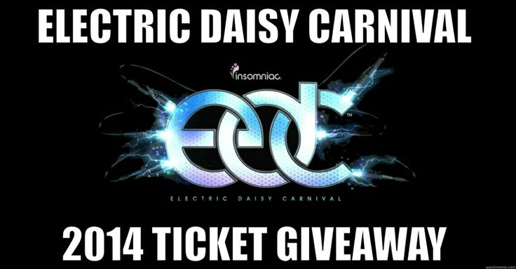 Follow the link to win yourself a tasty EDC 2014 Ticket!