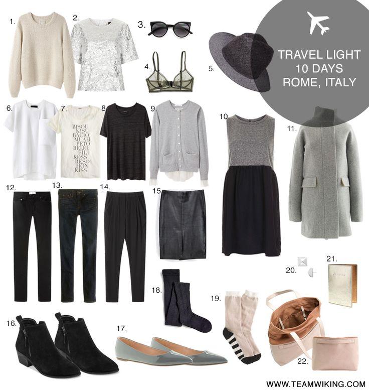 Travel Light: Rome, Italy