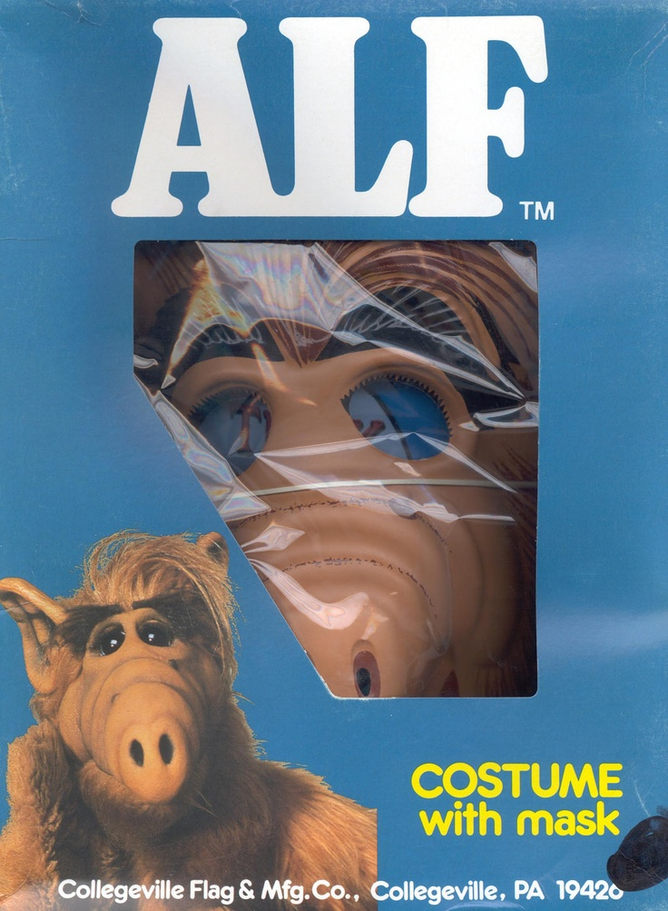 costume with mask alf tm mib lol my sister used to - Alf Halloween Episode