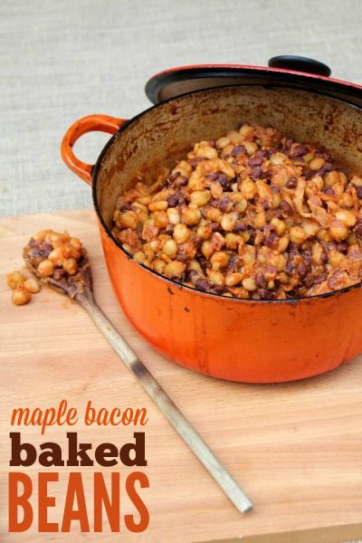 ... baked beans (recipe   Baked Beans, Maple Bacon and Baked Bean Recipes