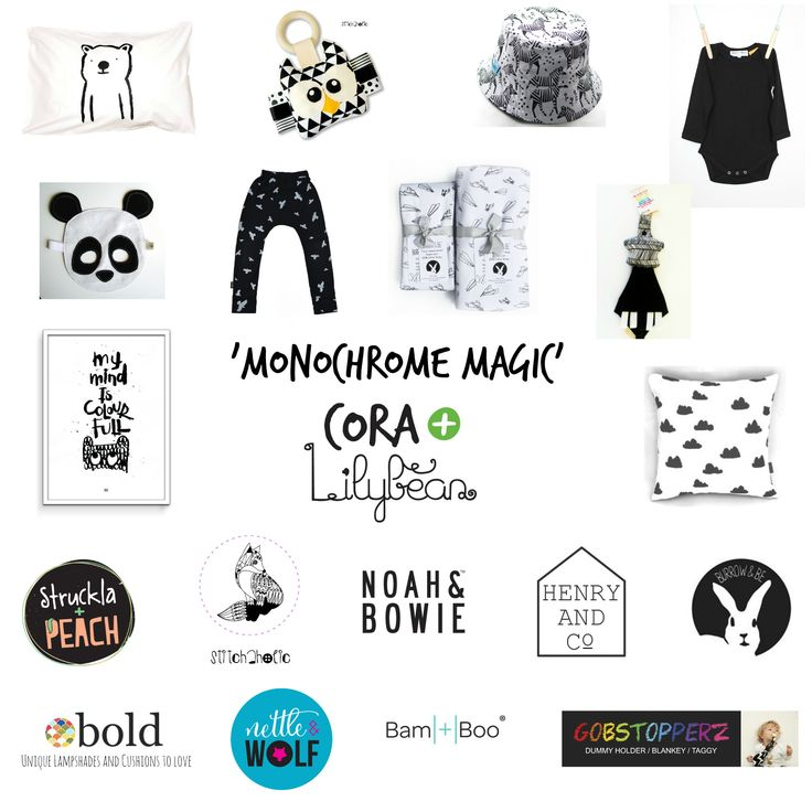 Enter to win: Cora Lilybean's 'Monochrome Magic' 1500 Likes Giveaway | http://www.dango.co.nz/s.php?u=YViU7vJq2767