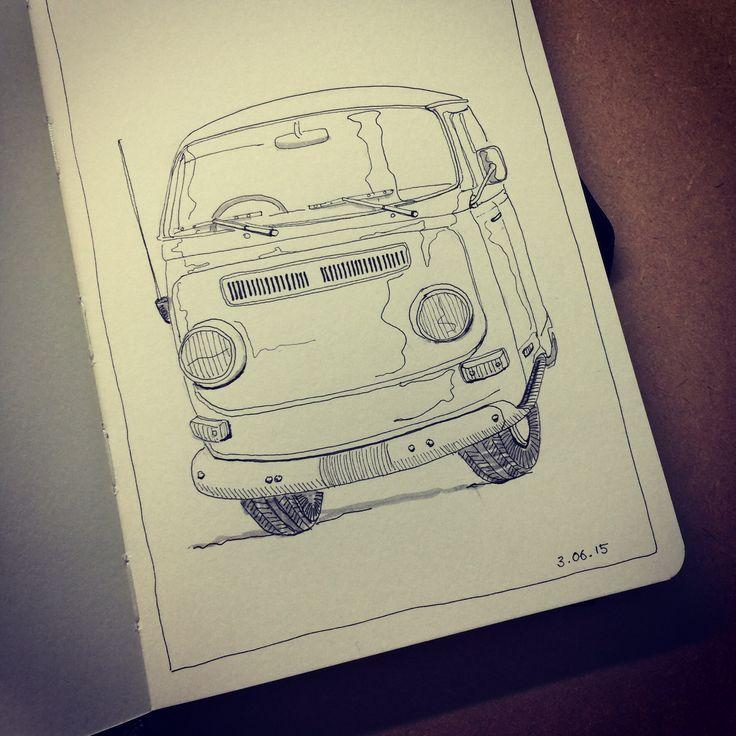 #Sketches #moleskine #ink #drawing #art