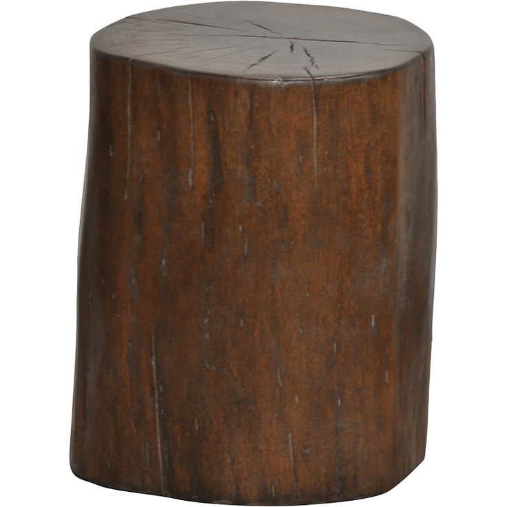 Classic Home Wood Trunk Stool | Pure Home