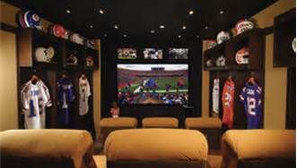 sports man cave - Bing Images