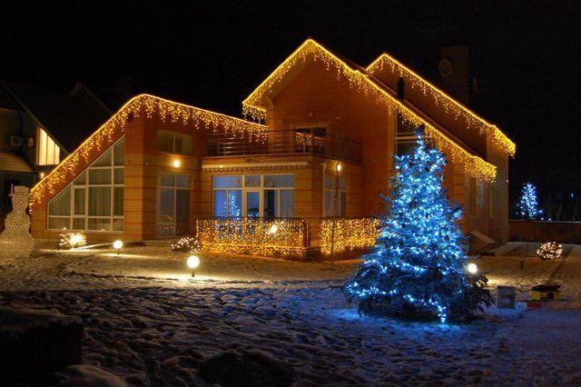 Светодиодная Led подсветка и украшение дома и участка - Огнимо