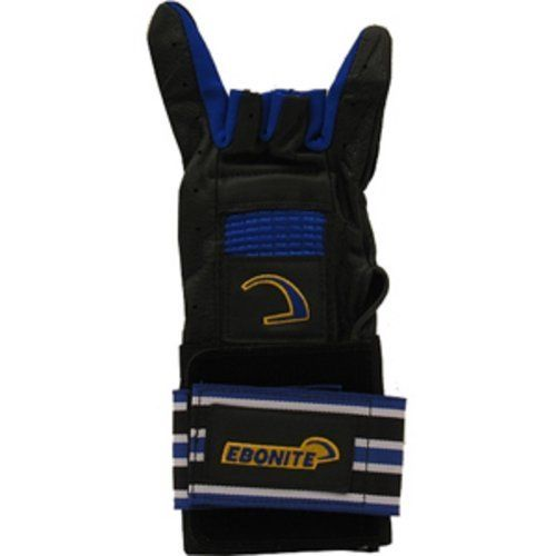 Ebonite Pro-Form Glove Left Handed by Ebonite. $19.99. From the #1 name in bowling gloves comes the glove that combines everything you are looking for.Gives you support, comfort, durability, and style Padded steel backhand support system for consistent wrist position during release Heavy-duty special gripping compound to increase contact with ball for added control Top-grade, supple leather glove for durability Wavy Spandex fabric finger gussets and glove back...
