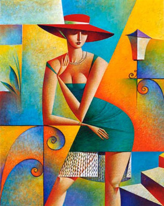 Georgy Kurasov - The Meeting (2001) Art Deco Style