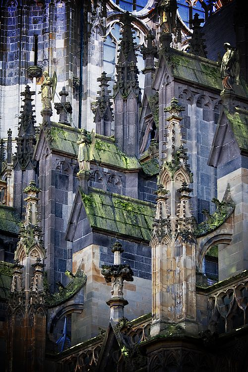 Side of St. Jan Cathedral (Den Bosch), The Netherlands. #greetingsfromnl