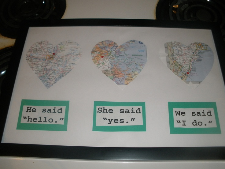 Bridal Shower Gift Ideas For My Best Friend : 2012 - made this for my friends bridal shower gift based on an idea ...
