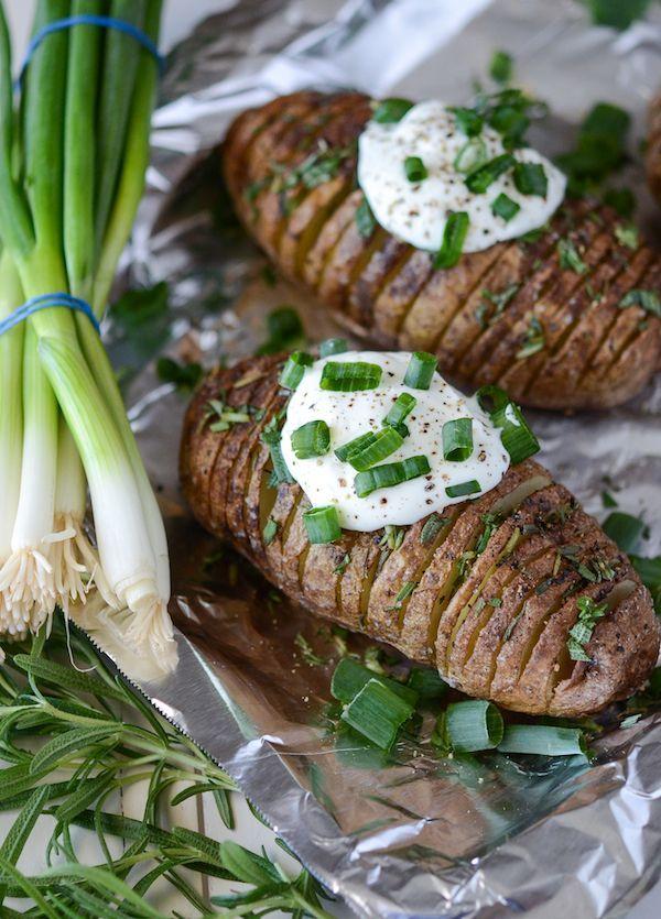 Rosemary Hasselback Potatoes