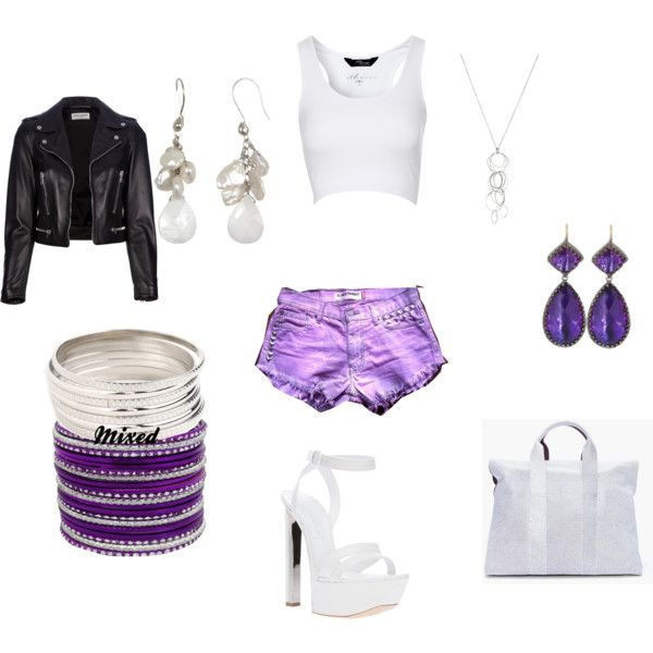 """Show Us How You Style High-Waisted Shorts"" by jbminajeva on Polyvore"