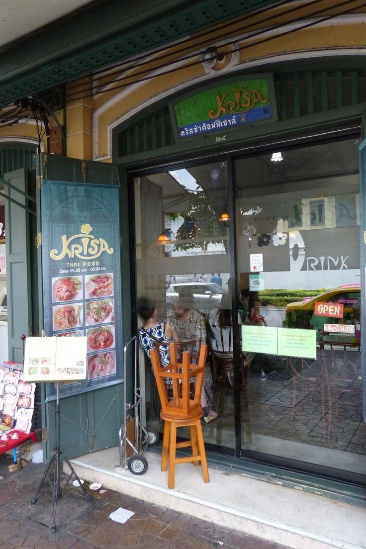 Krisa Coffee Shop, Bangkok - Junto al Palacio Real. EL mejor Pad Thai!!!