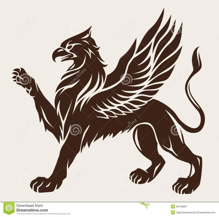 Griffin Tattoo Stock Image - Image: 36145831