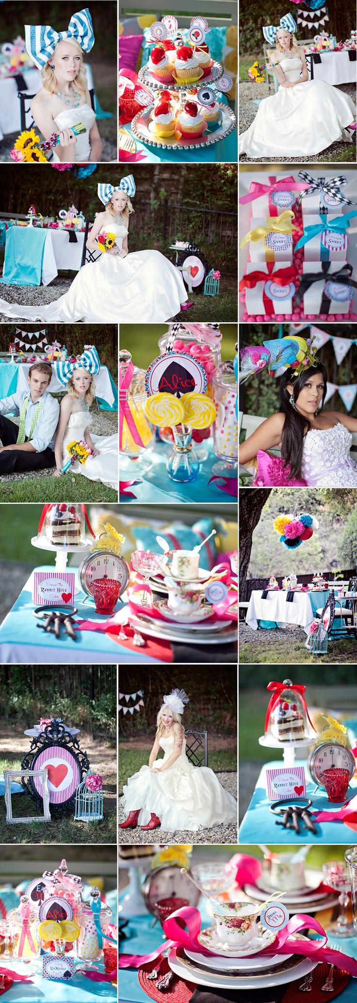 Alice in Wonderland Wedding! <3