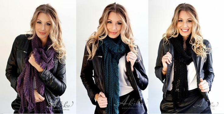 Softly, softly scarf is super cosy and soft! $24.95 www.akiku.com.au