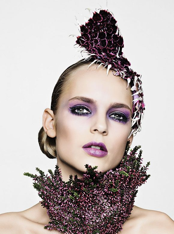 Botanic Couture- Simply stunning!     Love the purple? Get the same look here! http://motivescosmetics.marketamerica.com/chloemua/index.cfm?action=shopping.csProductDetail=6_CS_USA=USA21112=USA31119=135MES==USA    or MSG. me for makeup application appointment's! @Carol Danforth@Envyme24-7.com