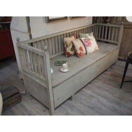 schwedische truhenbank m bel interieur pinterest truhenbank schwedisch und gefasst. Black Bedroom Furniture Sets. Home Design Ideas