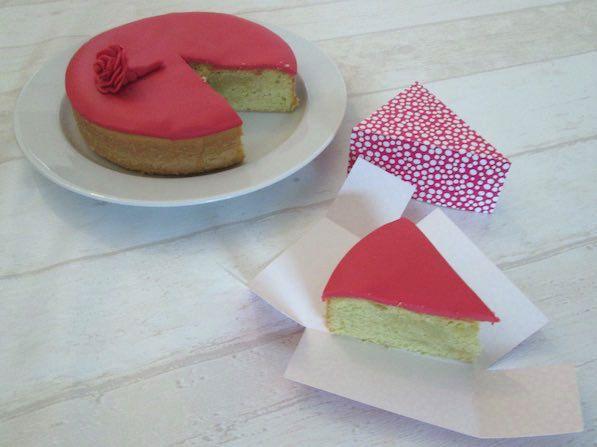 Cake Slice Box template   www.templatemaker.nl