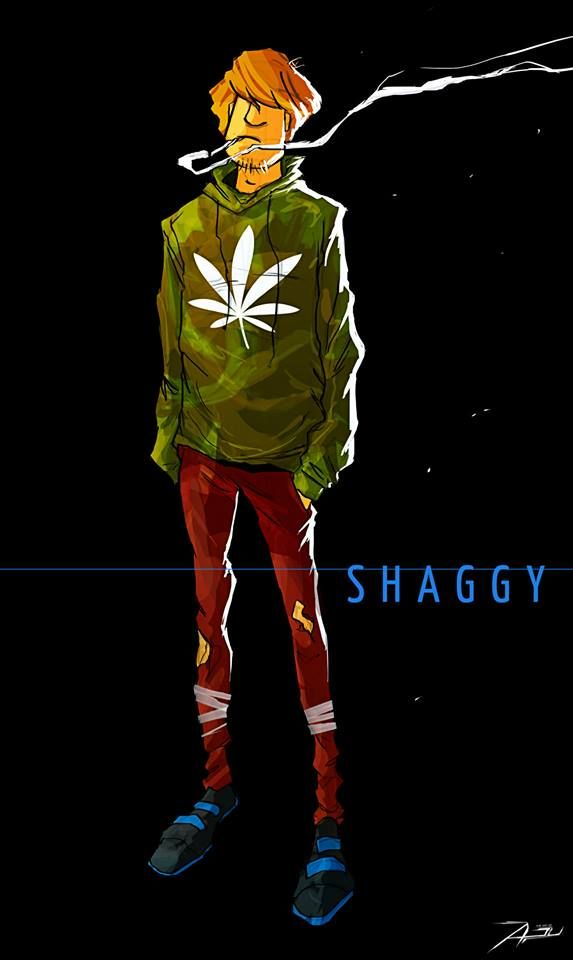 Shaggy I bet hed be hot in real life