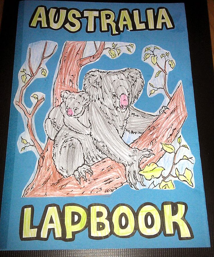 Iman's Home-School: Australia Lapbook