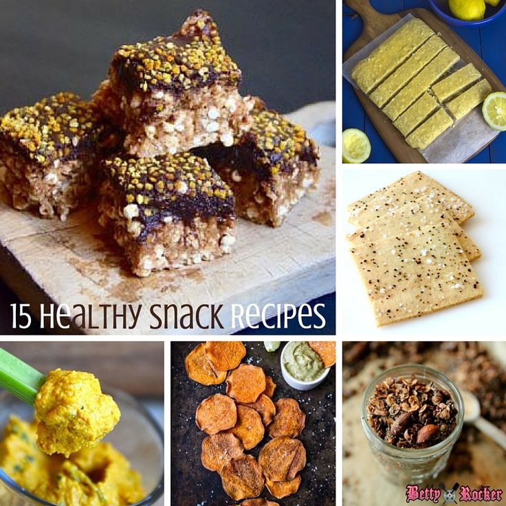 Check out these awesome snack recipes from our favorite bloggers!