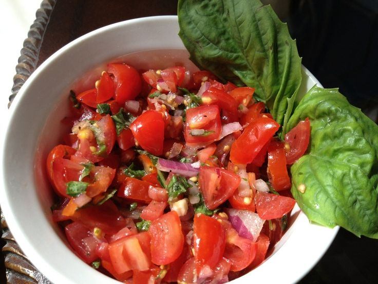 tomato and basil bruschetta recipe protein chang 39 e 3 and salads. Black Bedroom Furniture Sets. Home Design Ideas