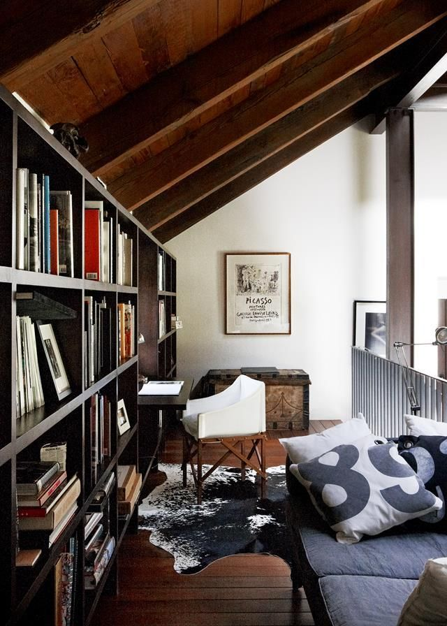 Home Library Loft: 14 Of The Best Home Library Designs