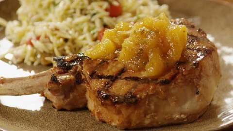 ... sorts of meats and fish.. Tropical Grilled Pork Chops Allrecipes.com