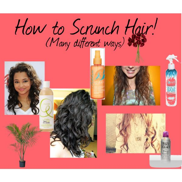 """How to Scrunch Hair!"" by sometipsforyou on Polyvore"