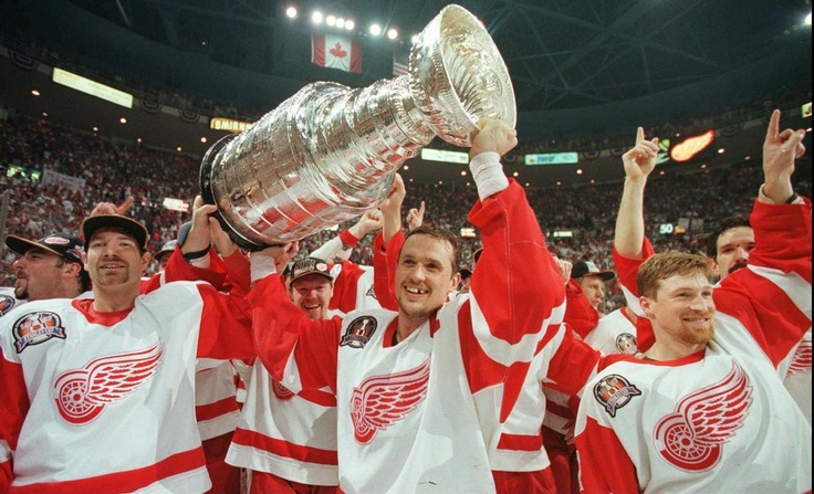 Image result for red wings stanley cup 1997