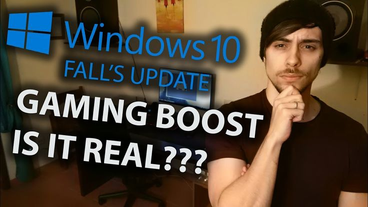 Windows 10 Fall's Update | Is Gaming Boost Real?? | Ryzen 5 1600 & RX 480