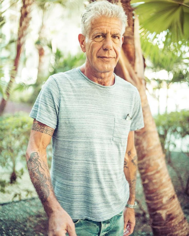 @anthonybourdain I took this right after our conversation on Facebook Live. He's an inspirational dude. He said one thing that is still on his bucket list ...