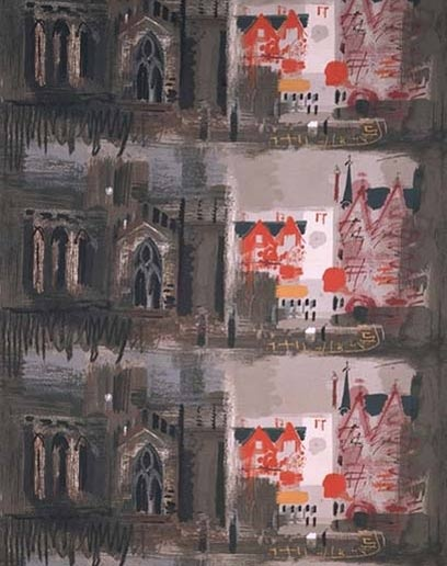 John Piper. And he did great textiles.