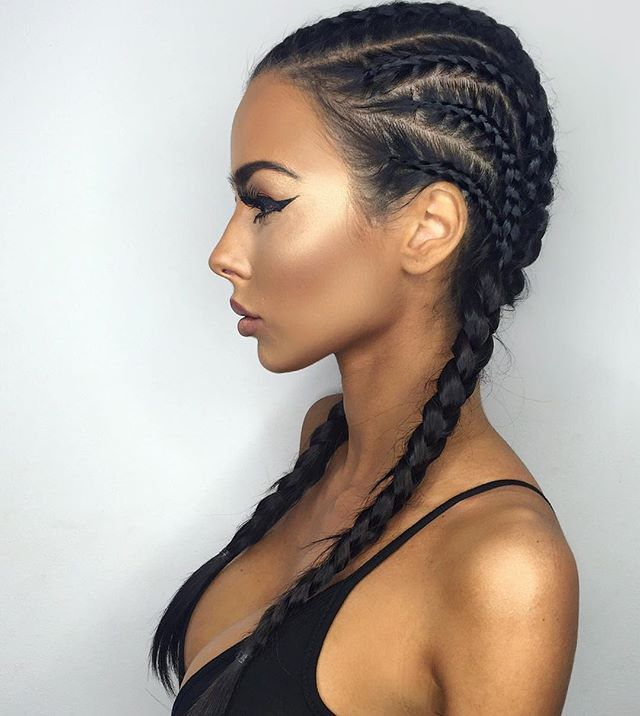 "HAIR GOALS by @mrdbiggin  Lashes are ""LongLash"" x2! Www.sorelleuk.com @manuellax"