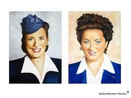 Ada Zerbi y Dora Dominguez quienes fueron las prioneras y obstinadas mujeres en cruzar la Cordillera de los Andes.