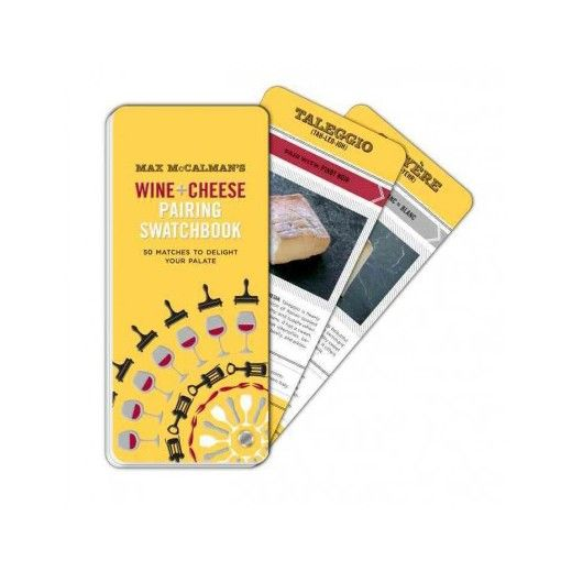 From the foremost master of cheese in the country, Max McCalman, comes a practical twist on wine and cheese pairings that includes detailed information about the history, production and unique flavor of fifty of the world?s finest cheeses, as well as the accompanying information about the best wine varietals and vintages to pair them with. <br><br>The easy-to-navigate swatchbook format fans out to reveal the ideal wine and cheese match for any occasion.