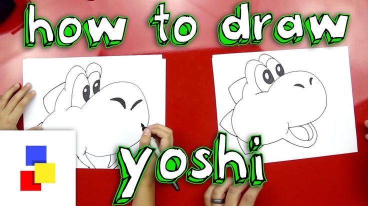 How to draw Yoshi