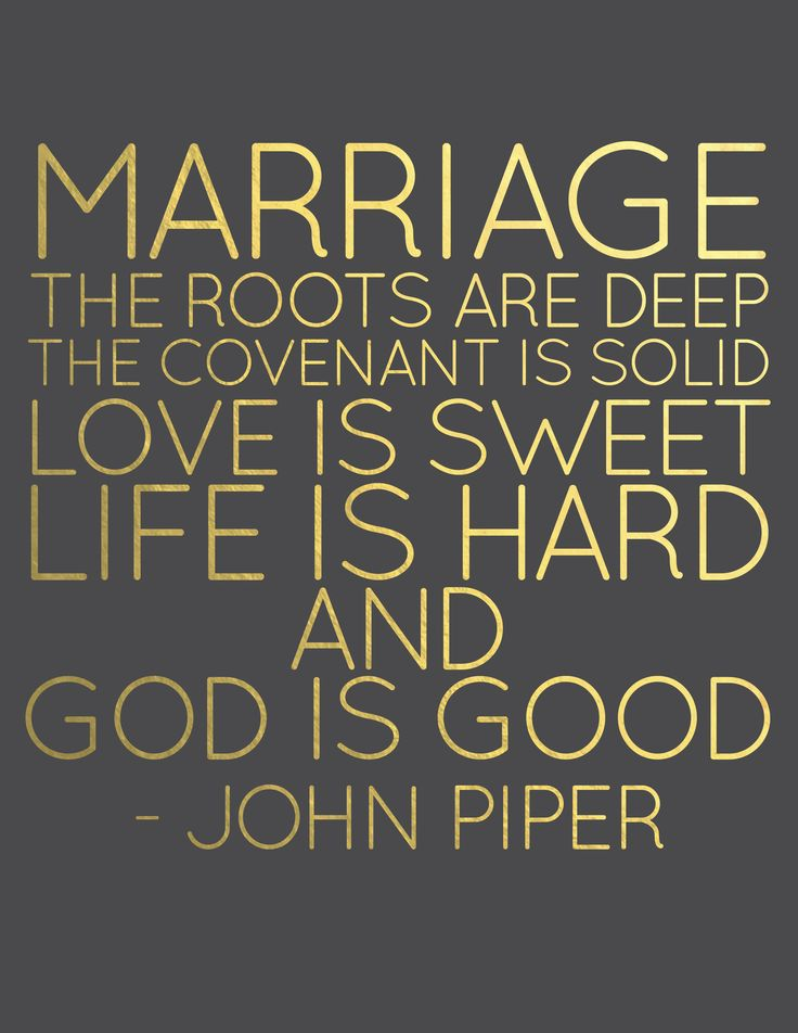 Marriage Quote John Piper Black and Gold Gold Lettering www.lenaephotography.com weddings words to live by
